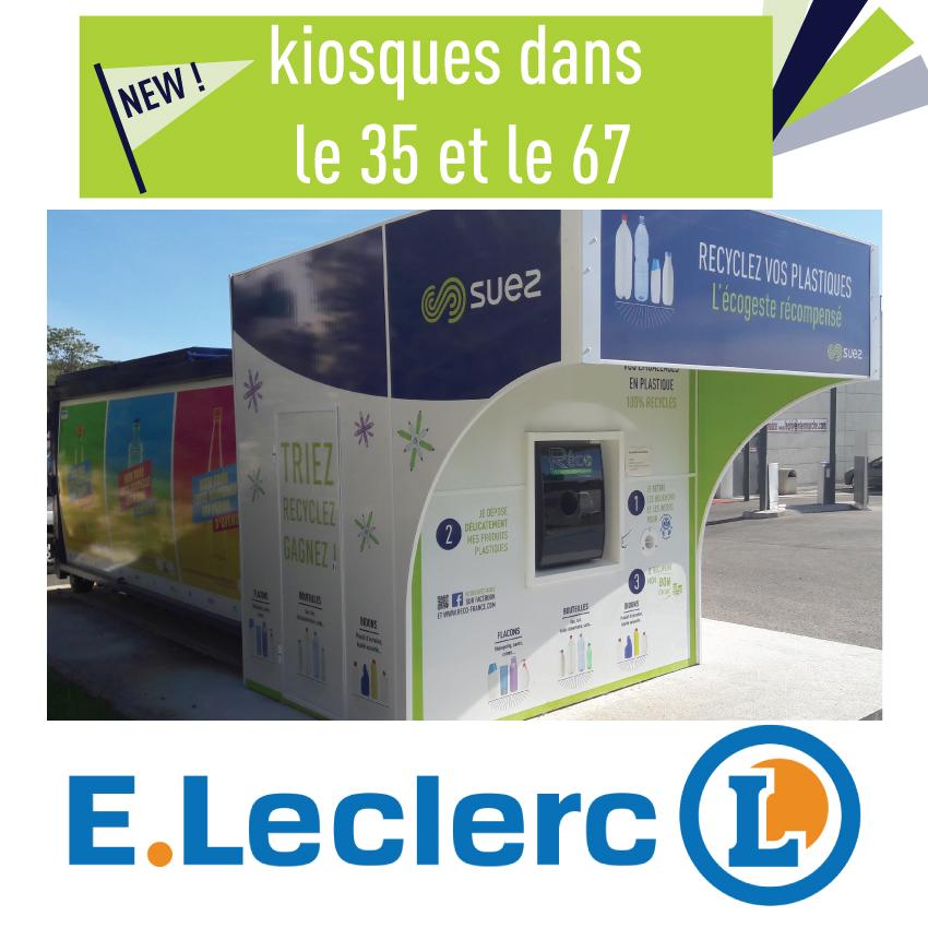 Nouveaux Kiosques Avec Leclerc Réco France